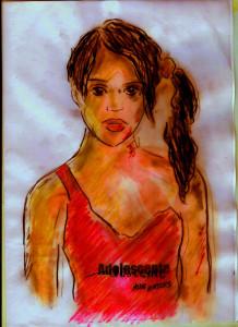 Millie Embrose Midinette portrait sombre 1C